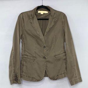 J Crew Classic Twill Chino Weathered Jacket